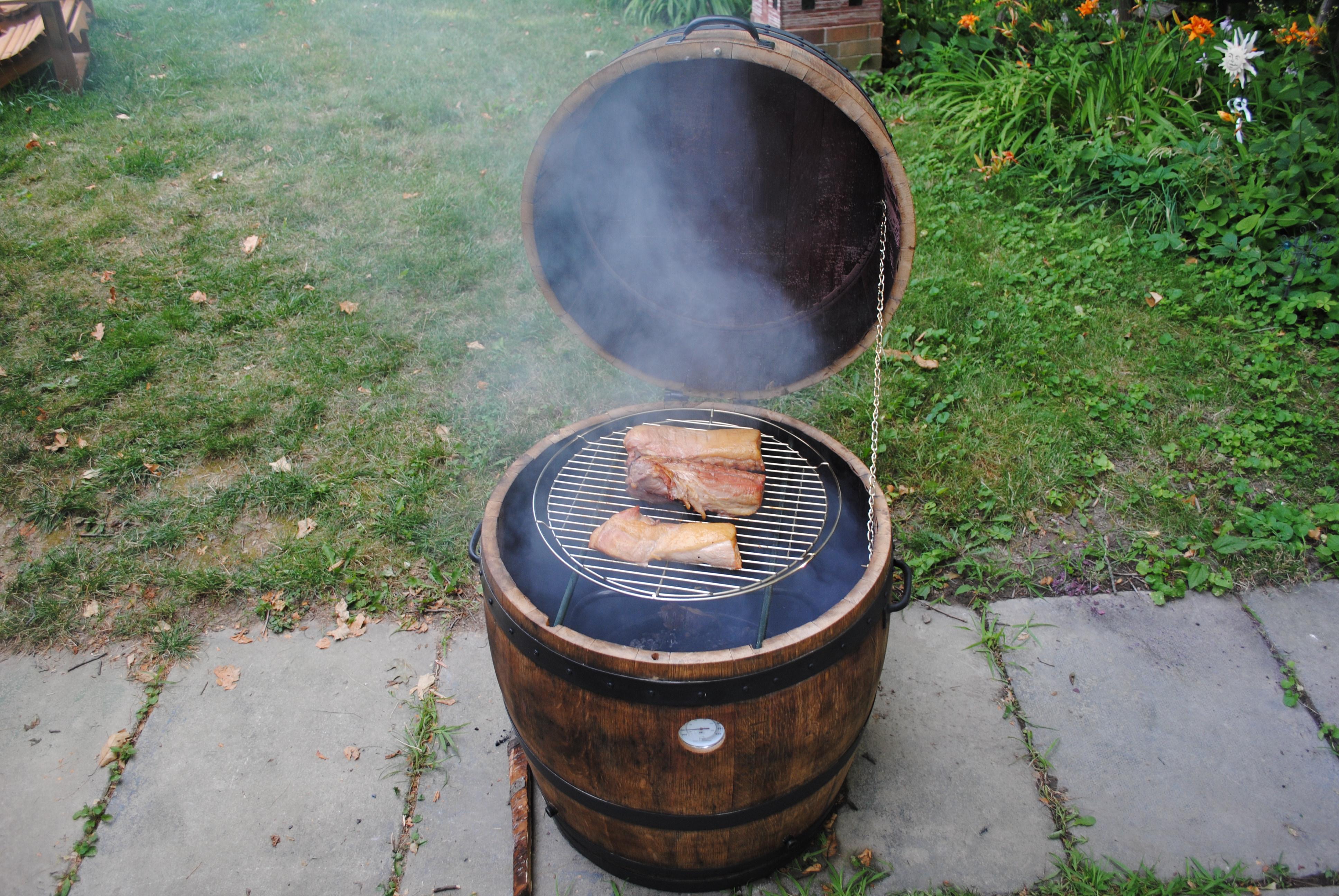 Tsd Custom Woodworking Wine Barrel Smoker And Coolers