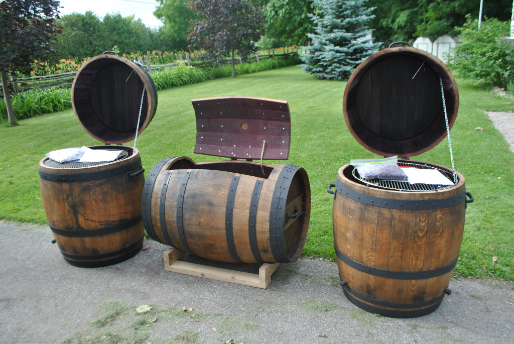 Tsd Custom Woodworking Wine Barrel Smoker And Coolers